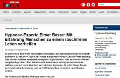 Nichtraucher mit Hypnose Hamburg | Dr. phil. Elmar Basse